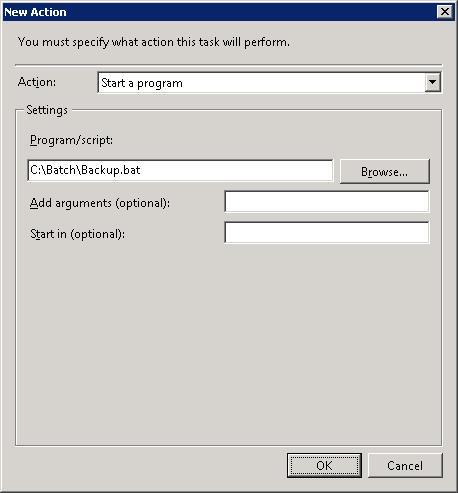 how to run bat file in windows