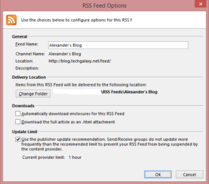 Options trading rss feed