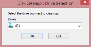 how to use disc cleanup