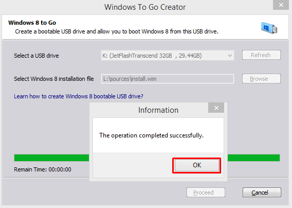 Step-by-Step Instructions for Creating a Windows to Go USB Drive