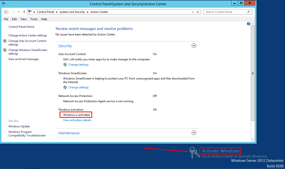 Windows Server 2012 Requires Activation When It's Already Activated