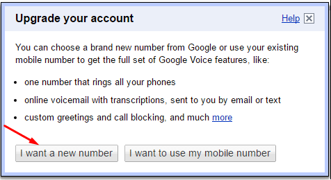 how to add google voice number