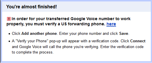 How to Obtain and Configure a Free Google Voice Number (in