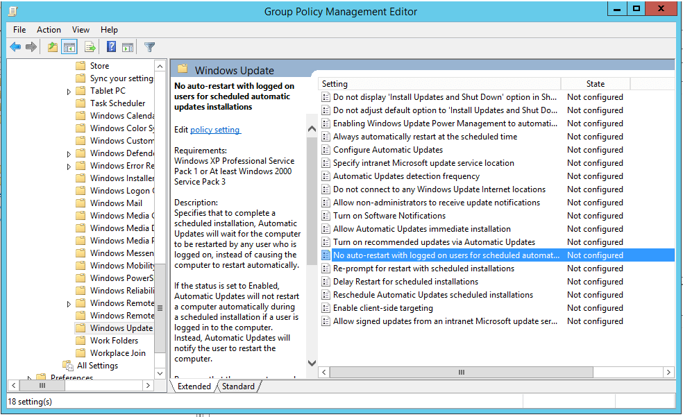 windows xp reset group policy to default