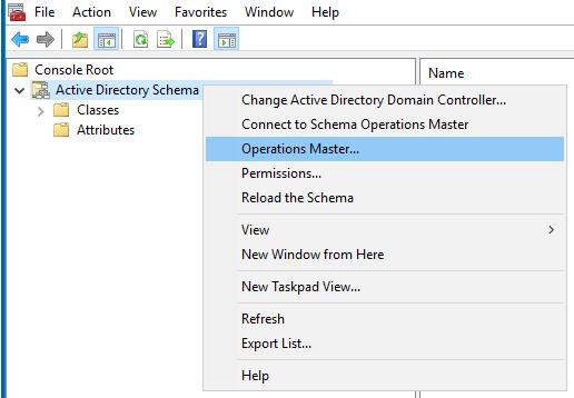 Active Directory Schema Management | Alexander's Blog