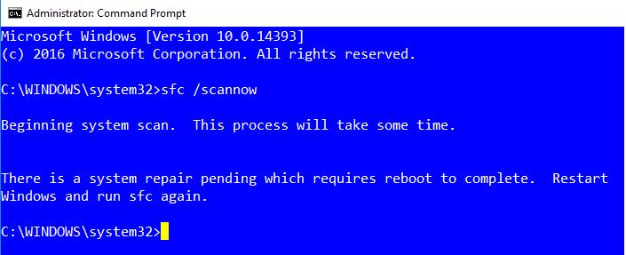 Solution for Error \