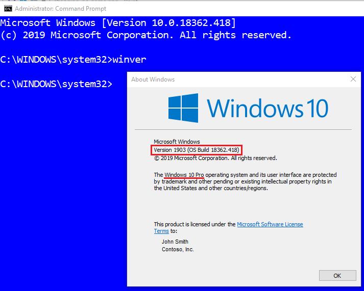 Windows Version (WinVer)